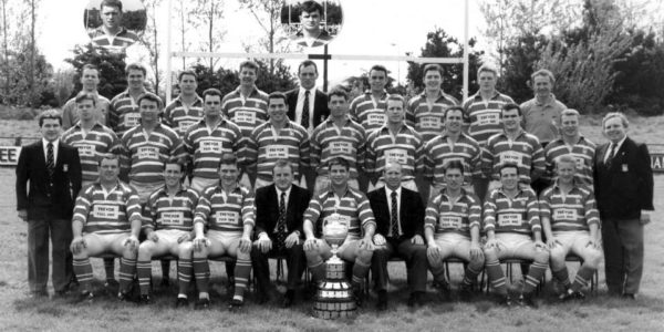 3rd Munster Senior Cup winning team 1994, captain Ken O'Connell