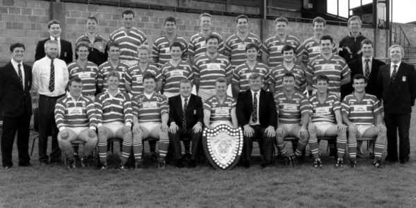 Munster Senior League winners 1992/ 93. Captain Niall Murphy